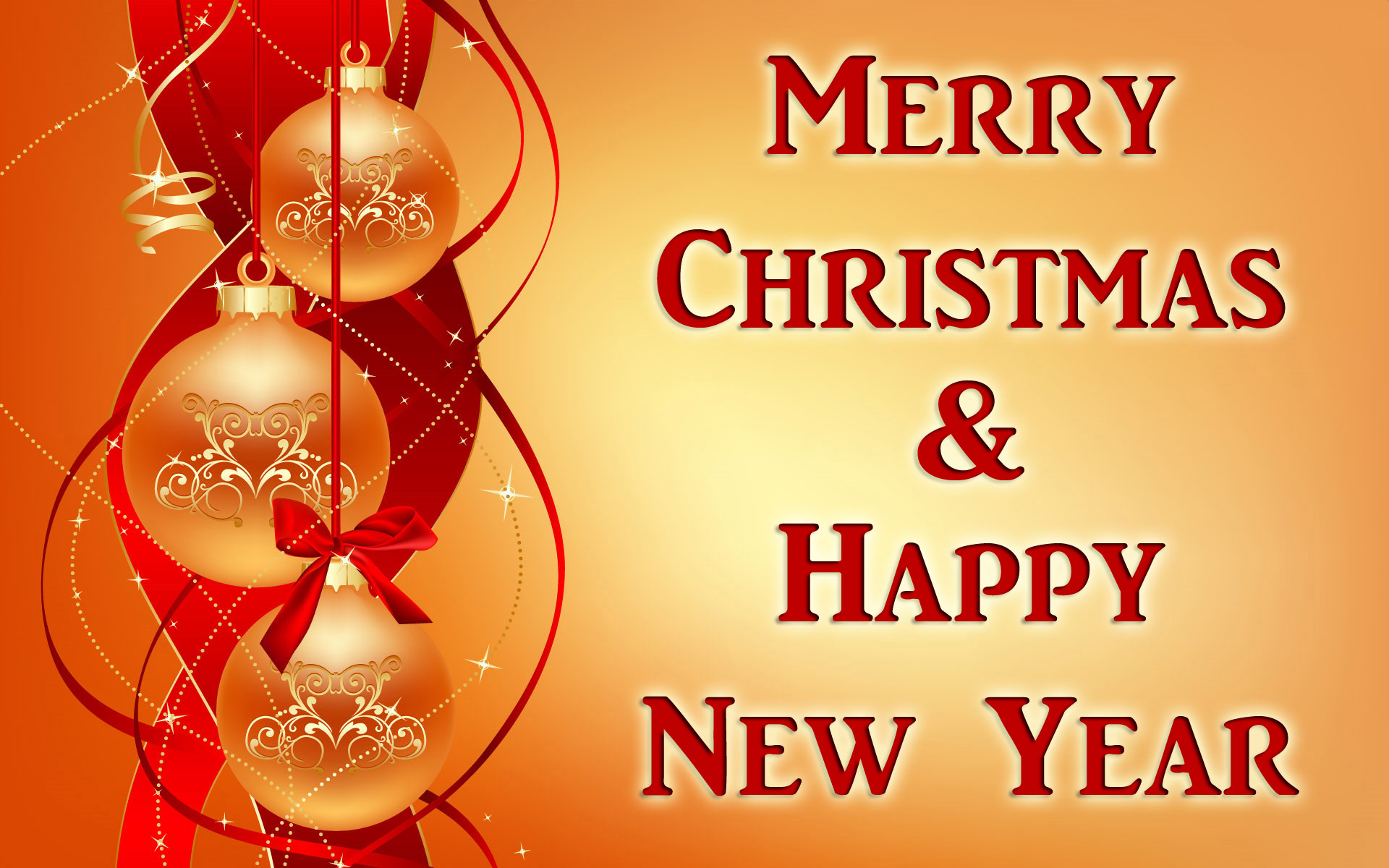 Christmas N New Year Greetings Card Happy New Year 2015
