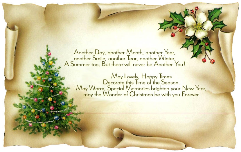 Christmas Greetings Poems Picture