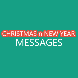 Christmas n New Year Messages
