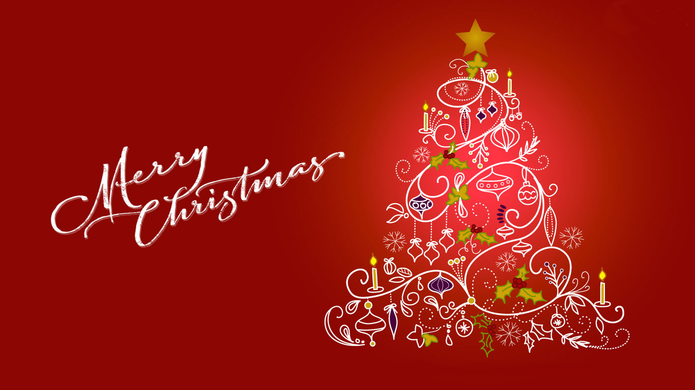christmas and new year wallpapers - direct wallpaper
