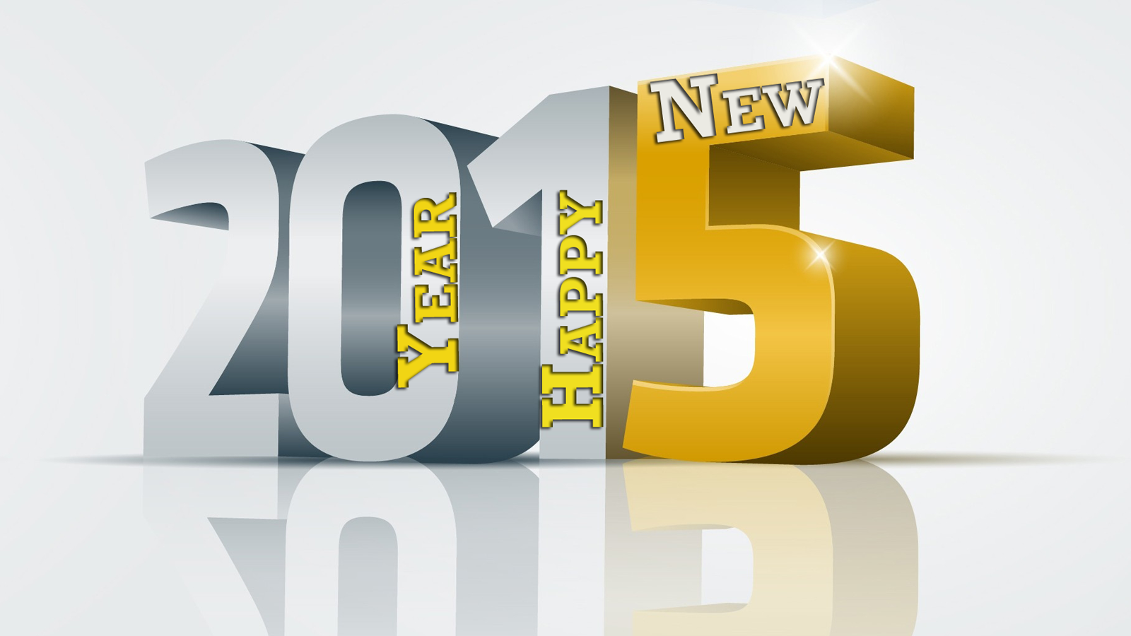 Happy New Year 2015 3D Pictures