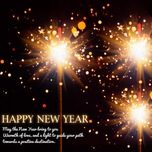 New Year Wish Card