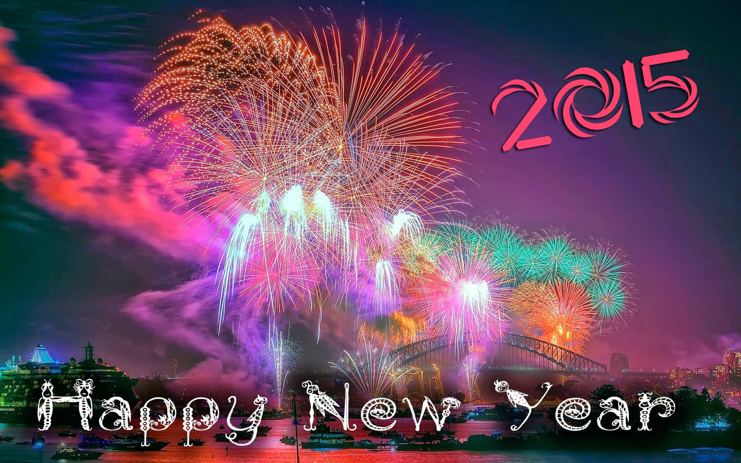 Happy New Year 2015 Firework Images