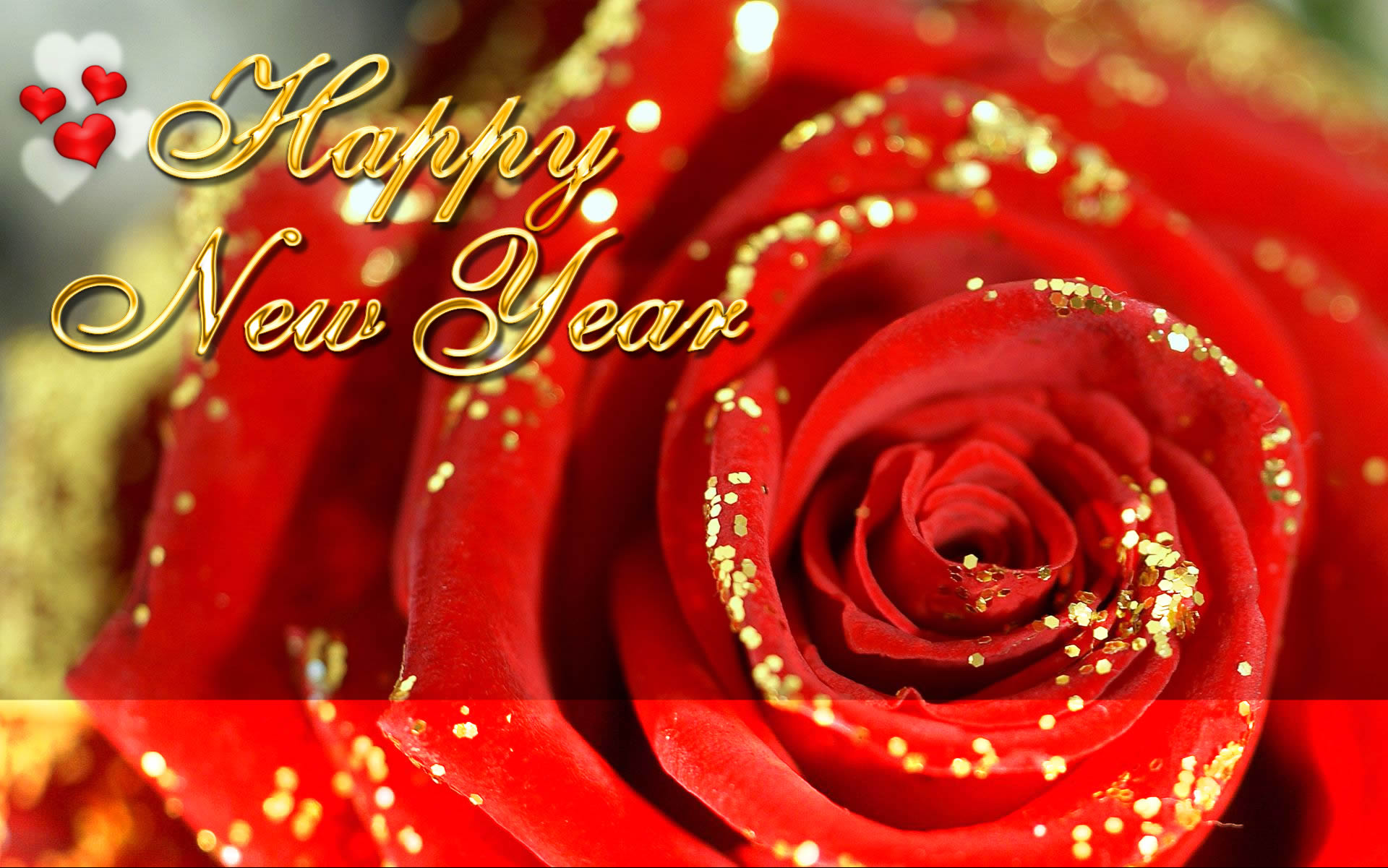 Happy New Year 2015 Rose Images