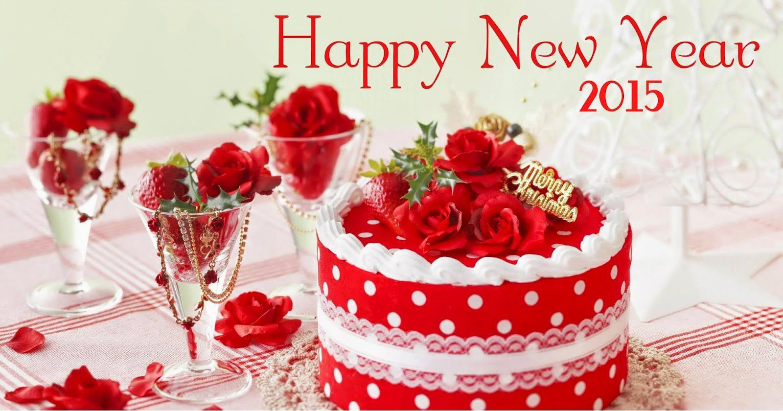 Happy New Year 2015 Cake Images