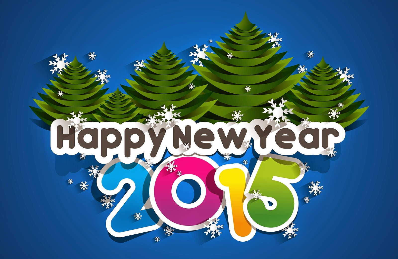 Happy New Year 2015 Snow Images HD