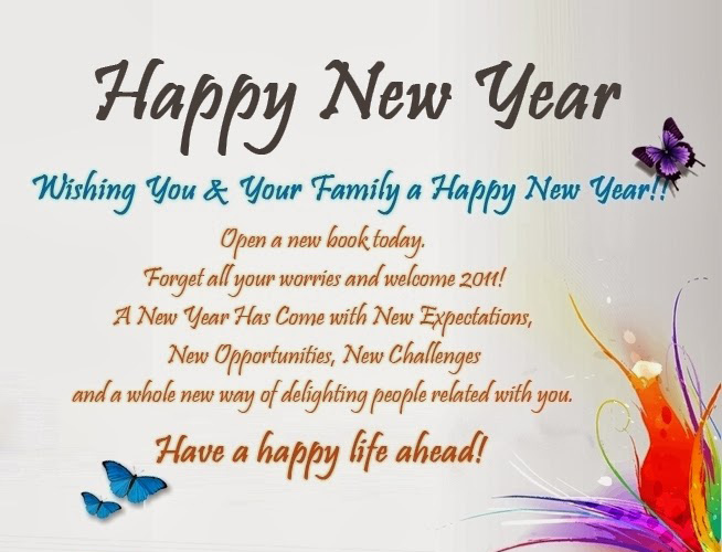 Happy New Year 2015 Quotes - Happy New Year 2015
