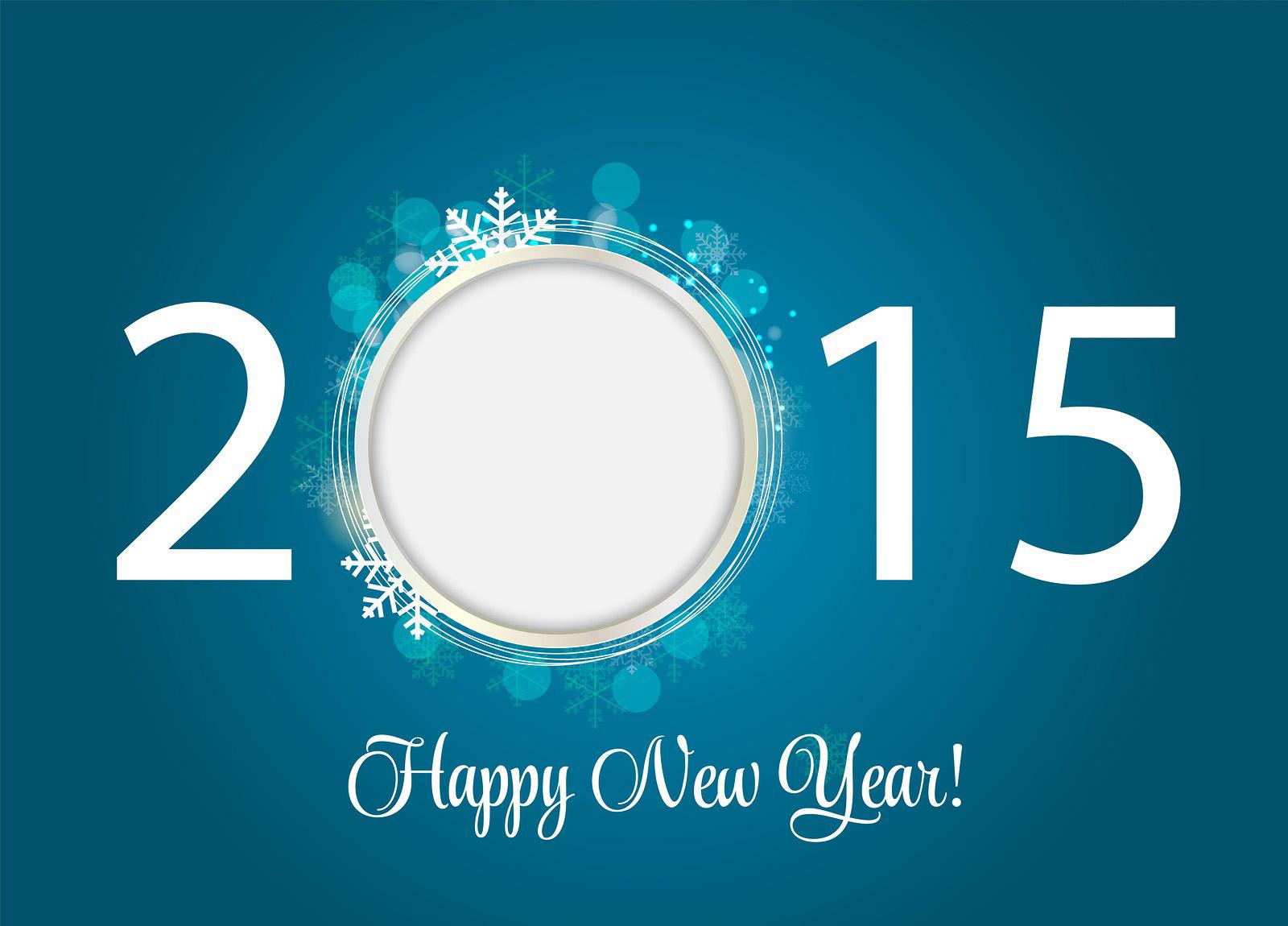 Happy New Year Wallpaper 2015 Snowflake