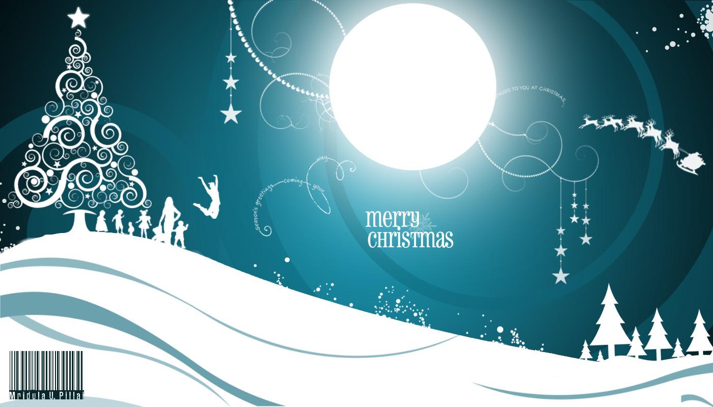 Merry Christmas Greetings Wallpaper